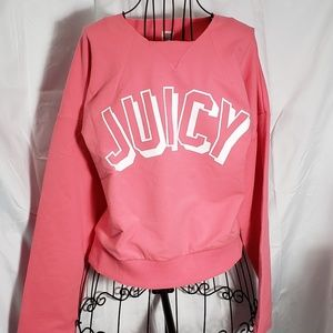 Juicy Couture Cozy Logo Pullover NWT